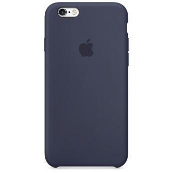 Силиконовый чехол для iPhone 6/6s тёмно-синий цвет