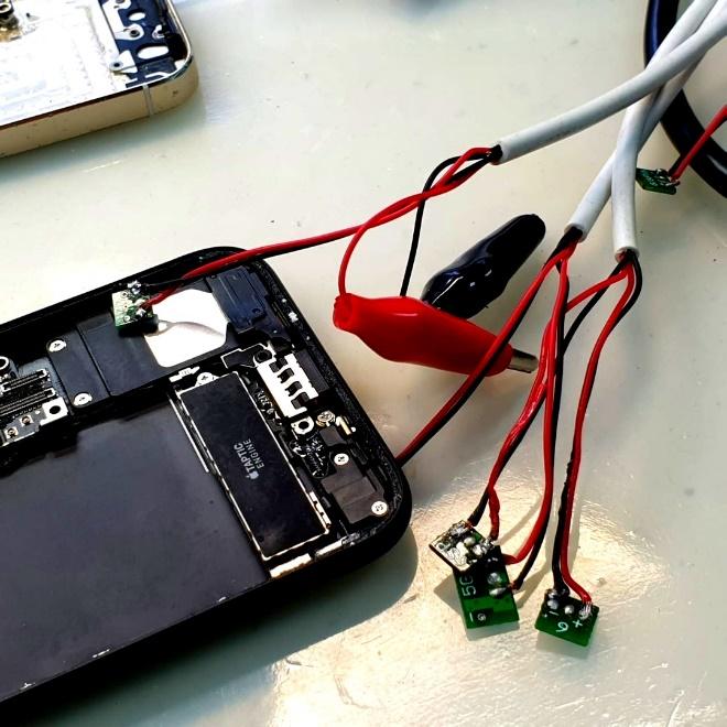 Бесплатная диагностика контролера питания Iphone