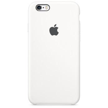 Силиконовый чехол для iPhone 6/6s белый цвет