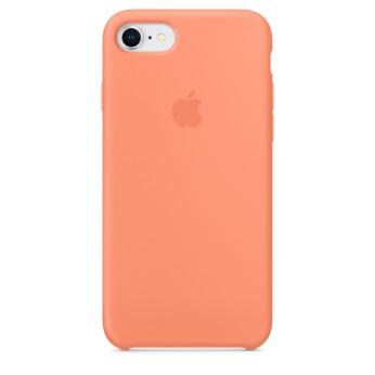 Силиконовый чехол для iPhone 8/7 цвет «сочный персик»