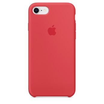 Силиконовый чехол для iPhone 8/7 цвет «спелая малина»