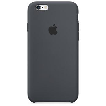 Силиконовый чехол для iPhone 6/6s угольно-серый цвет